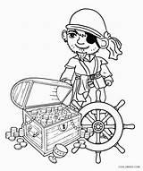Pirate Coloring Printable sketch template