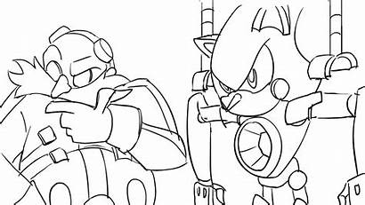 Sonic Eggman Metal Rough Animation