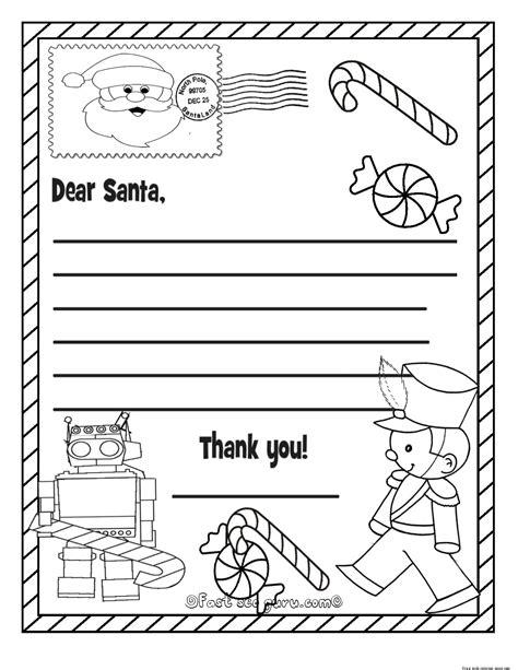 printable christmas  list  santa claus  kids