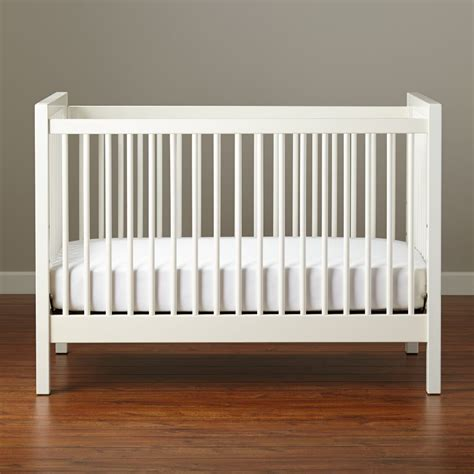 white crib baby cribs convertible storage mini the land of nod
