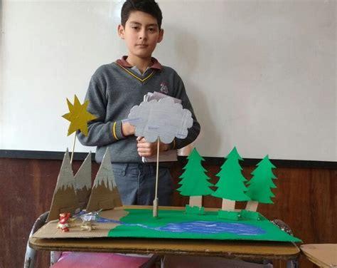 transformaciones de la materia en maquetas escuela nido de cisnes astilleros dalcahue