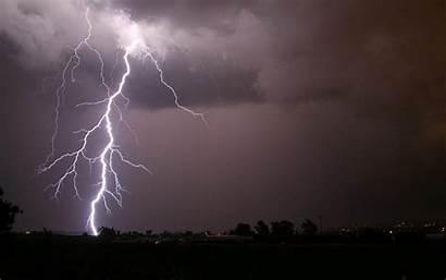 Lightning Wallpapers Desktop Backgrounds Background Scenery Paos