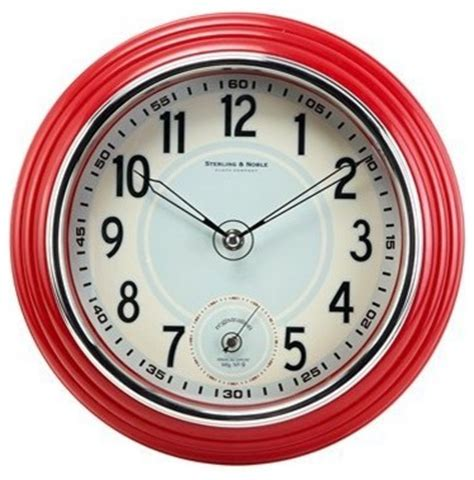 Kitchen Wall Decor Target by Retro Kitchen Wall Clock Traditional Clocks By