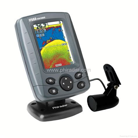 Depth Finder For The Boat by Boat Fish Finder With Color Screen Ff688c Phiradar