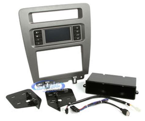 scosche fd1441ab single din dash kit 2010 2014 ford mustang