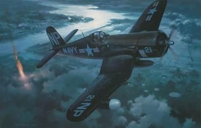 Corsair Plane Wallpaperaccess F4u Vought Ww2 Aviation
