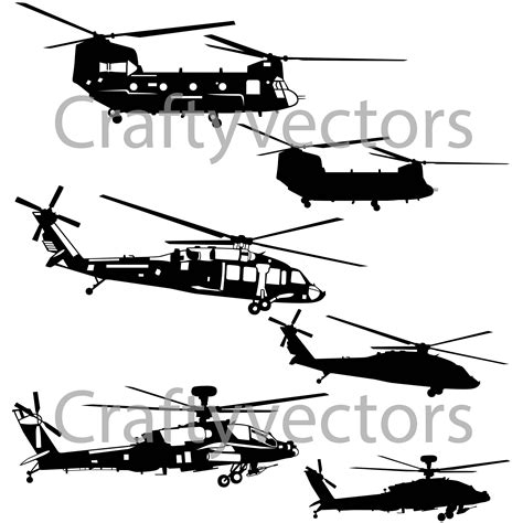 This famous vector graphics editor is a cross platform software for windows mac, and linux. Military Helicopters Vector File SVG