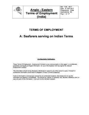 Editable letter of extension of contract for seafarers - Fill Out & Print Forms, Download in