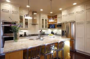 Double Oven Cabinets by Contemporary Townhouse Kitchen Transitional Kitchen