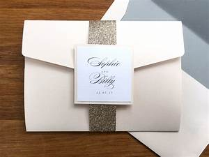 belly bands contemporary wedding stationery boutique With belly bands for wedding invitations uk