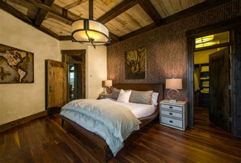rustic chic master bedroom lighting up master bedrooms with dramatic chandeliers 17015 | rustic bedroom