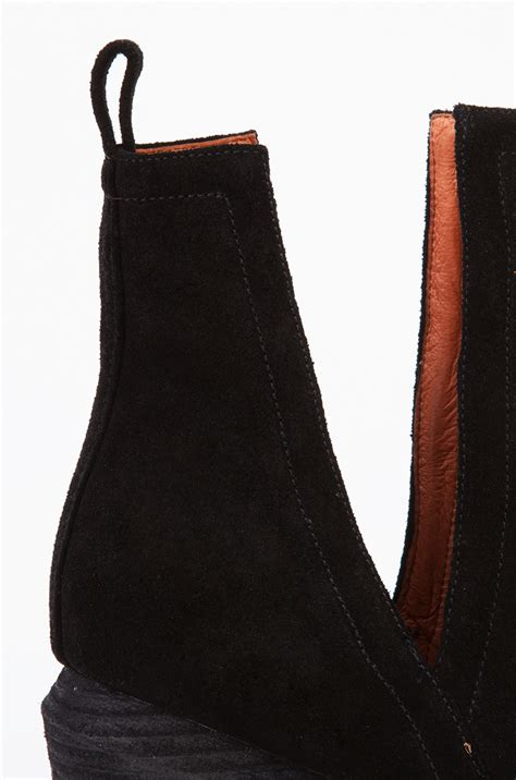 lyst jeffrey campbell orwell  open side ankle boots