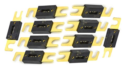 150a Amp Anl Type Fuse Gold Plated Quality Fuses 10 Pack