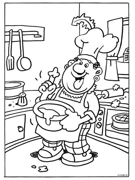 Kleurplaat Recept by Meer Dan 1000 Idee 235 N Keuken Knutselen Op