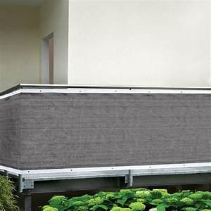 Sichtschutz Glas Bauhaus : gardol balkonsichtschutz grau 5 x 0 9 m bauhaus ~ Eleganceandgraceweddings.com Haus und Dekorationen