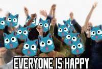Everyone Is Happy Reaction Image by darkwerewolf - Meme Center
