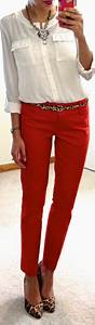 25+ best ideas about Red pants on Pinterest | Red skinny jeans Red pants outfit and Red jeans ...