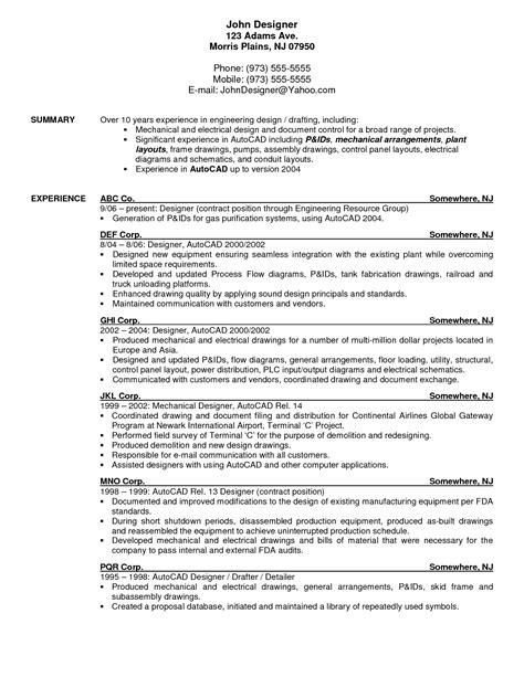 drafting resume exles resume exle resume exles