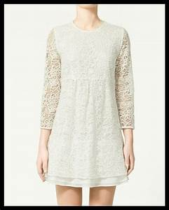 Robes dentelle zara all pictures top for Robe dentelle blanche zara