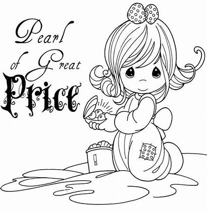 Coloring Precious Pearl Moments Pages Parable Bible