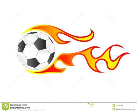 glenn arbour academy soccer ball fire isolated