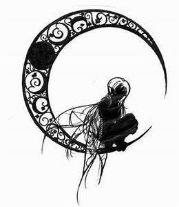 Lune Dessin Tatouage : ombre chinoise f e lune tatou ~ Melissatoandfro.com Idées de Décoration