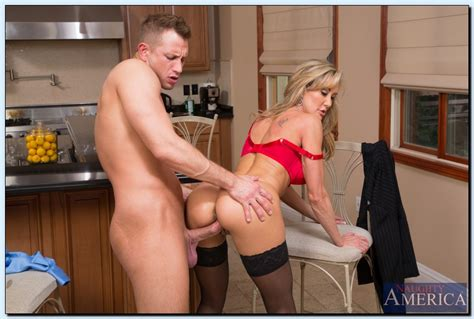 brandi love in black stockings gets fucked hard in the kitchen my pornstar book