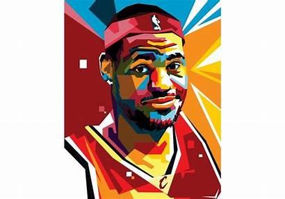 Lebron Portrait Graphics
