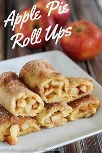 Apple Pie Roll Ups The Happier Homemaker Bloglovin'