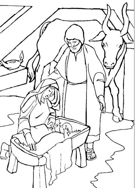 Jezus In In De Kribbe Kleurplaat by Page Not Found Webs