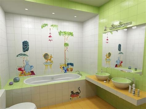 + Unique And Colorful Kids Bathroom Ideas, Furniture And