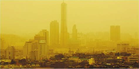 yellow dust storms information mujigae city