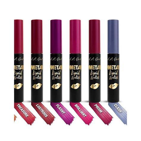 la girl metal liquid lipstick