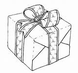 Coloring Christmas Pages Gift Gifts Box Present Presents Getcoloringpages Boxes sketch template