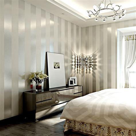 glitter striped wallpaper luxury wall papers modern