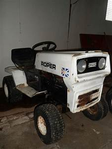 Roper Tractor Ride On 11hp 1970s Mower Barn Find Rare Collectors Item Spares Or