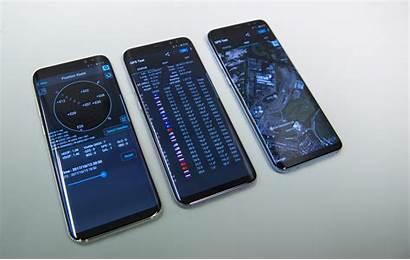 Galileo Smartphones Satellite Esa Navigation Samsung System