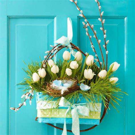 diy easter  spring door decorations