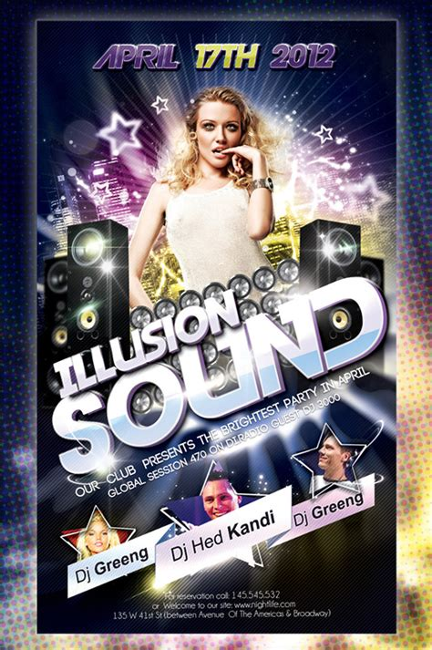 Free Club Flyer Templates by Free Psd Flyer Flyer Templates Free Free Psd