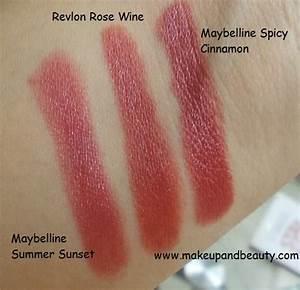 Revlon Super Lustrous Lipstick Rosewine – Indian Makeup