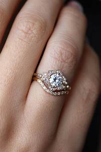 17 best ideas about engagement ring styles on pinterest With engagement ring to wedding ring