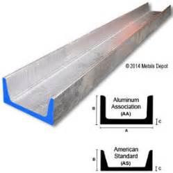 buy alum online metalsdepot buy 6061 aluminum channel