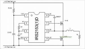 Self Oscillating Half Bridge Driver Ic