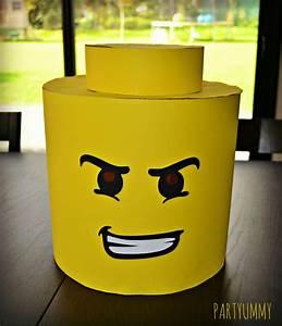 Fabriquer Un Personnage En Carton : costume lego tete en carton diy ~ Zukunftsfamilie.com Idées de Décoration
