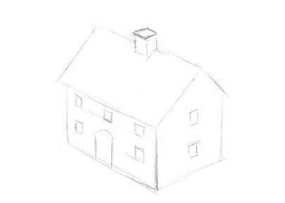 haus selber zeichnen haus selber zeichnen anleitung dekoking diy bastelideen dekoideen zeichnen lernen
