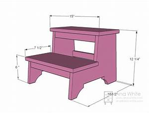 Ana White Vintage Step Stool - DIY Projects