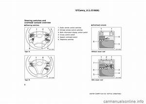 Toyota Camry 2007 Xv40    8 G User Guide  428 Pages