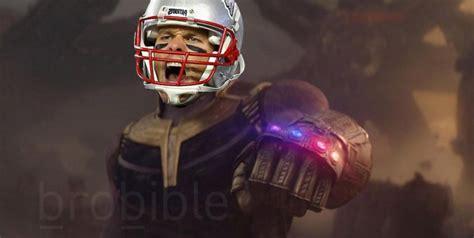 meme tom brady    rings  thanos