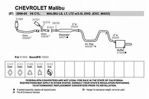 26 2004 Chevy Malibu Exhaust System Diagram