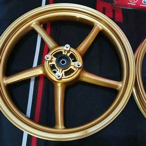 Jual Racing Boy Rim Velg Pelek Set 1 85 2 50 Ring 17 Sp522 Gold Palang 5 Yamaha 125 Z Jupiter Mx